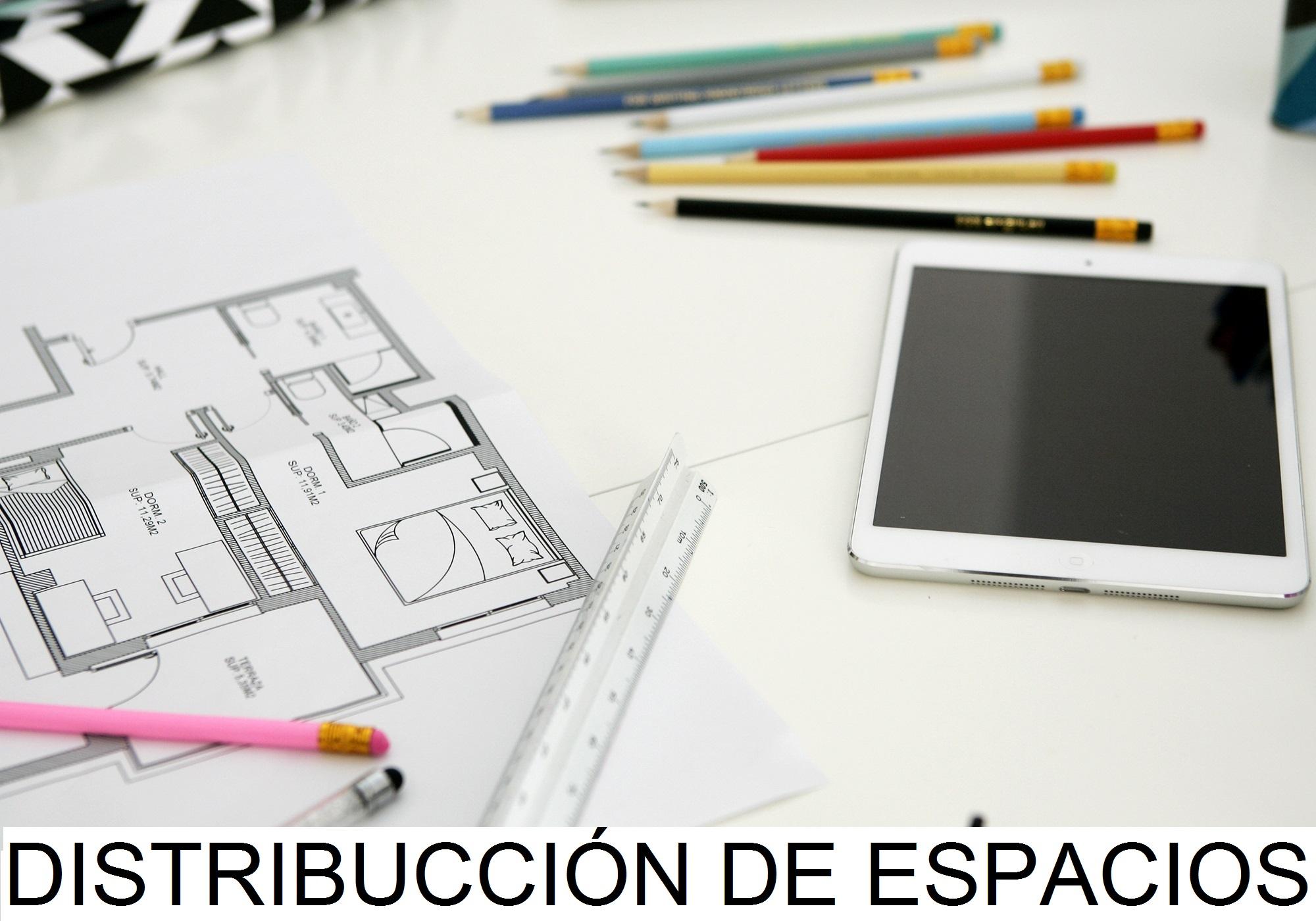 Servicio: Distribución de Espacios