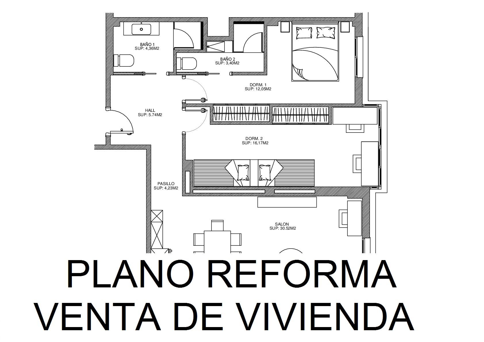 Servicio Planos de Reformas para la venta de viviendas