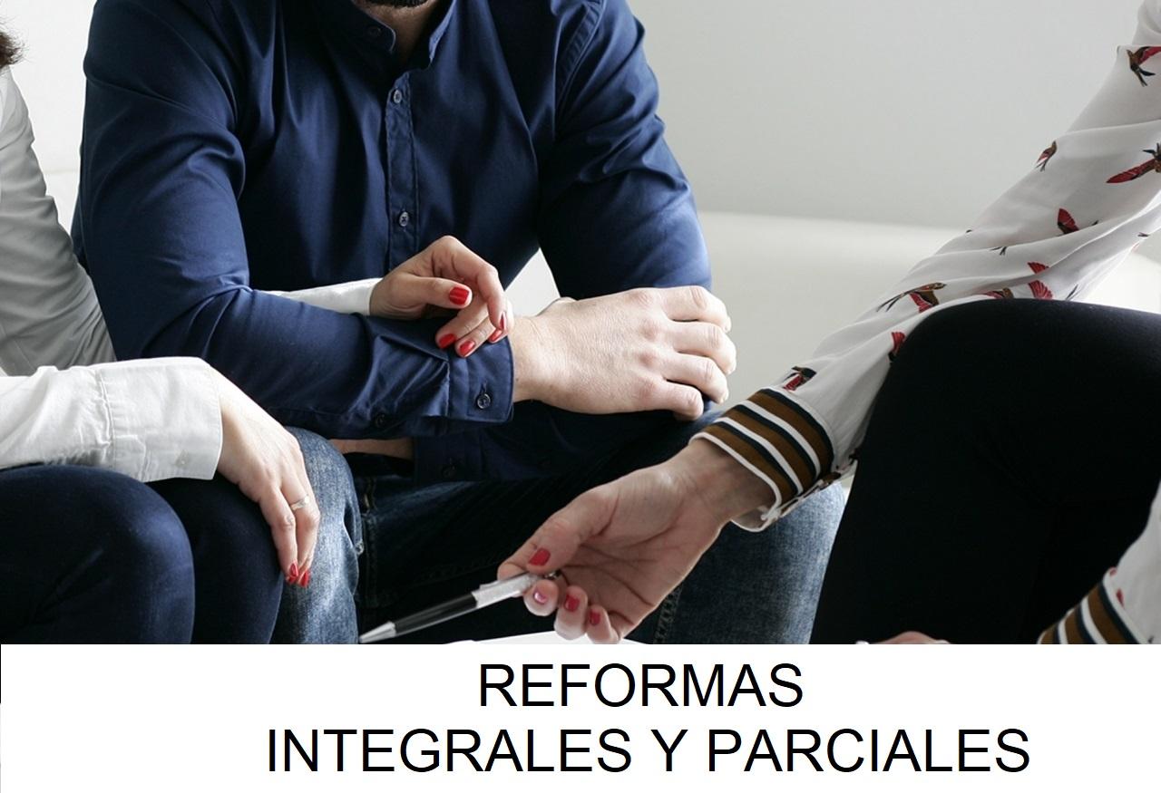 Servicio: Reformas Integrales y Parciales