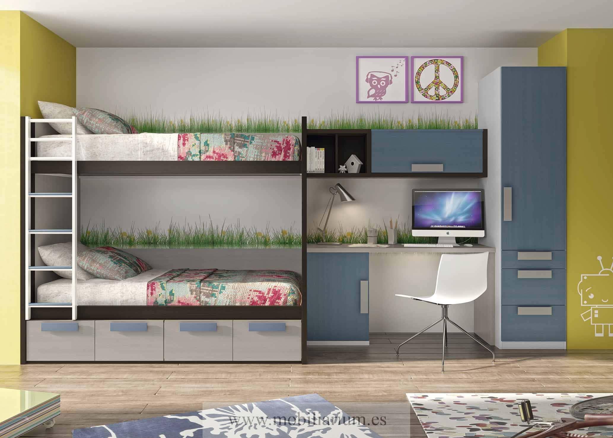Dormitorios juveniles creativainteriorismoyreformas - Fotos de literas modernas ...