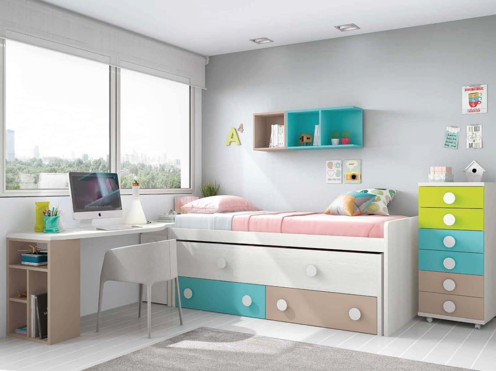 Dormitorios juveniles creativainteriorismoyreformas - Merkamueble habitaciones juveniles ...