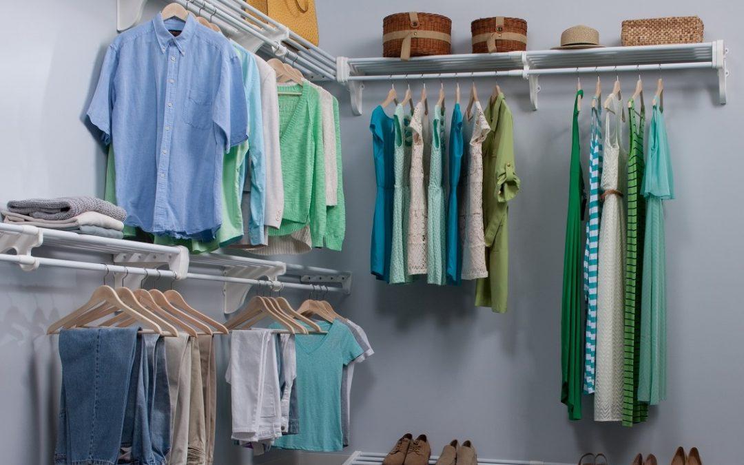 Cómo aprovechar el espacio para organizar tu ropa