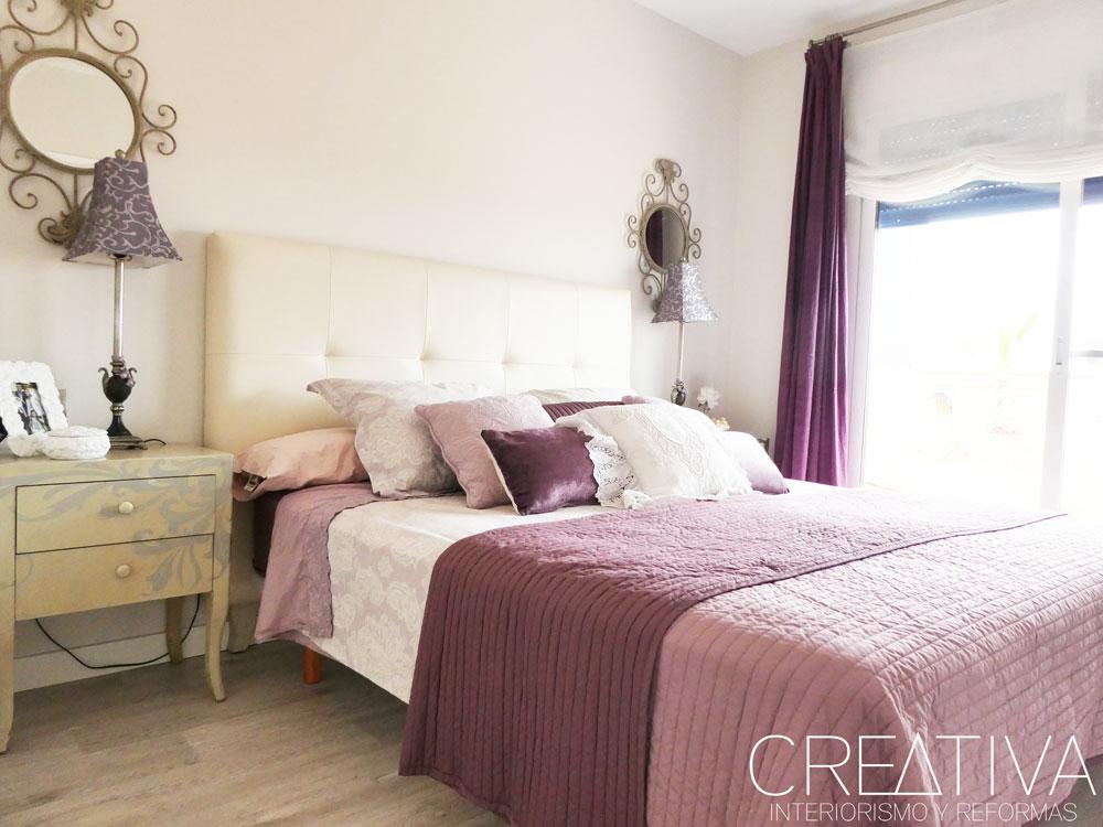 Dormitorio Romántico Creativa
